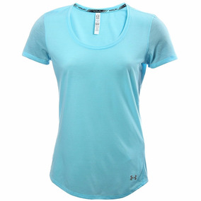 Playera Atletica Heatgear Charged Mujer Under Armour Ua1792