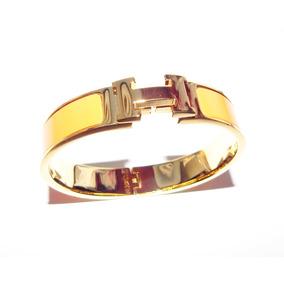 d5498c00f8c Bracelete Pulseira Hermes Clic Clac - Pulseiras e Braceletes ...