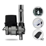 Motor Portão Basc. Jetflex 4 Seg 1/4hp 300 Kg Bi-volt+ 2 Tx