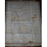 Antiguo Mapa Iquique Pisagua Tarapaca Pica 1936 Huara