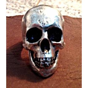 Anel De Caveira Skull Anatomia Real Humana