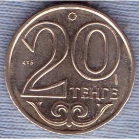 Kazakhstan 20 Tenge 2000 * Emblema Nacional * Republica *