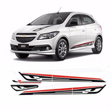 Calcos Chevrolet Onix Kit Capot Baul Lateral