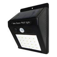 Aplique Reflector Led Panel Solar Sensor Movimiento 4w Tbcin