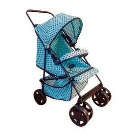 Carrinho De Boneca Bebê Reborn Ninos Milano Estilo Luxo