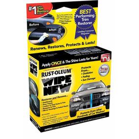 Limpiador Restaurador Para Piezas De Auto Wipe New
