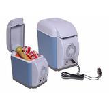 Geladeira Mini Portátil Para Carro 7,5l 12 V Camping Viagem