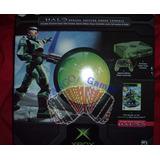 Microsoft Xbox Clásica Edición Halo Limited + Halo 2 +extras