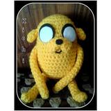 Muñeco Jake Hora De Aventura Crochet Amigurumi