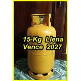 Envase Garrafa 15-kg Llena, Solo Envio A Villa Soldati,