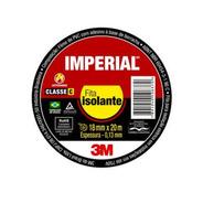 Kit 20 Fita Isolante Imperial Slim 18x20 Metros 3m
