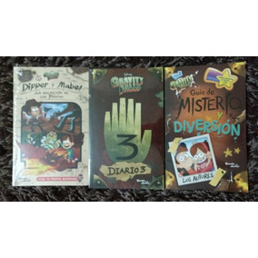 Libro Gravity Falls Journal 3 Set De 3 Español + Gorra De Re