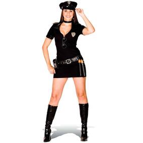 Fantasia De Policial Feminino Adulto Com Quepe Heat Girls
