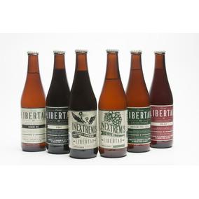 Cerveza Artesanal Libertad 24 Pack Mix 6c/u (ipa Stout Otro)