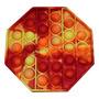 Orange yellow polygon