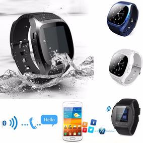 Smart Watch M26 Android Samsung Iphone Windows Phone Azul