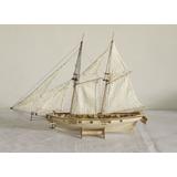 Kit Barco De Madera Para Armar 1:100 Naval Cañones Moldelo