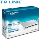 Switch 8 Puertos 10/100 Tp-link Tl-sf1008d A 12 Meses Sin In