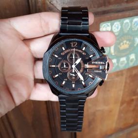 3d240867afa Relogio Todo Preto Diesel - Relógio Masculino no Mercado Livre Brasil