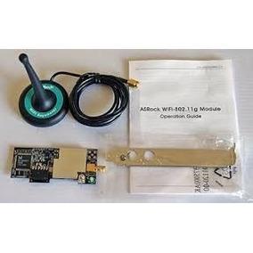 Módulo Asrock Wifi-802.11g