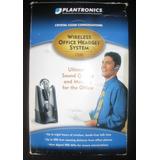 Plantronics Sistema De Auriculares Inalambricos