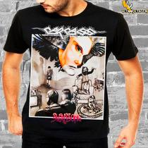 Camiseta Rock Carcass Swansong