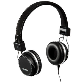 Fone Ouvido Headphone Bomber Quake Cabo Flat Hb02 Black