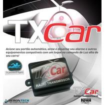 Tx Car Controle Portão Farol Carro Moto Longo Alcance 100 M