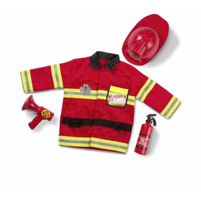 Fire Chief Role Play Set - Disfraz De Bombero