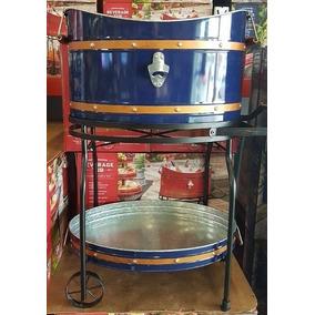 Cooler Carrinho Para Bebidas Copper Banded Beverage Tub