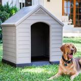 Cucha Casa Perro Grande Termica 95x99x99cm Ultra Resistente
