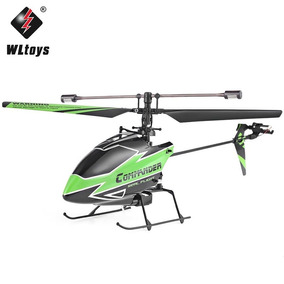 Helicóptero Copter V911 4 Canais Wltoys Completo Original