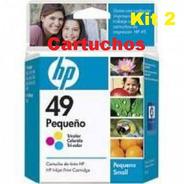 Cartucho 2und Hp 49 Original Color | Officejet 500 | Deskjet