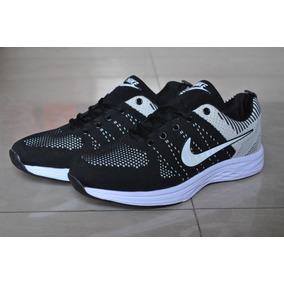 Kp3 Zapatos Nike Air Zoom Negro Gris Para Caballeros