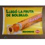 Publicidad Antigua Golosina-caramelo Redondo Durazno Cartel