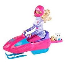 Barbie Quero Ser Bióloga Do Ártico - Gelo Snowmobile