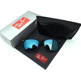 Oculos Wayfarer Azul (haste Quadriculada) Oculos Parana - Óculos no ... c8383dfca4