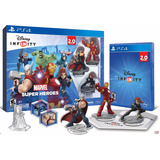 Ps4 Disney Infinity Marvel Super Heroes 2.0 Starter Pack