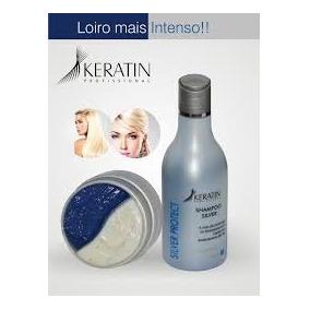 Kit Silver Protect Matizador Shampoo + Mascara Keratin