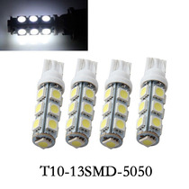 Lâmpada Automotiva Farolete 13 Leds Super Branco 12v T10 W5w