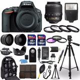 Kit Nikon D5500 Cámara Dslr + 18-55mm Mas 30 Accesorios