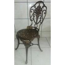 Cadeira Chines Em Aluminio Para Jardim Ou Varanda