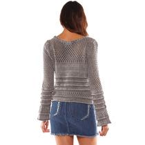 Sarkany Almez - Sweater Mujer Efecto Gastado