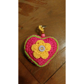 Souvenirs Tejidos Crochet Corazón