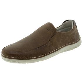 Sapato Masculino Sharp Conhaque Democrata - 175101