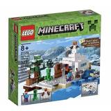 Minecraft Lego Original - Guarida De Nieve -jesus Maria