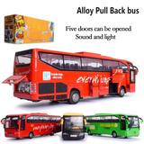 Autobús Del Metal Bus Turístico Escala 1:30 Omnibus