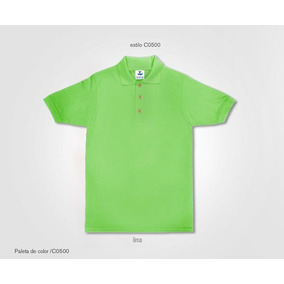 Playera Tipo Polo Con Logotipo Bordado