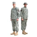 Chaqueta Y Pantalon Acu Digital Camuflado Army Xl - Xxl