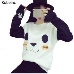 Sudadera Sueter Mujer Panda